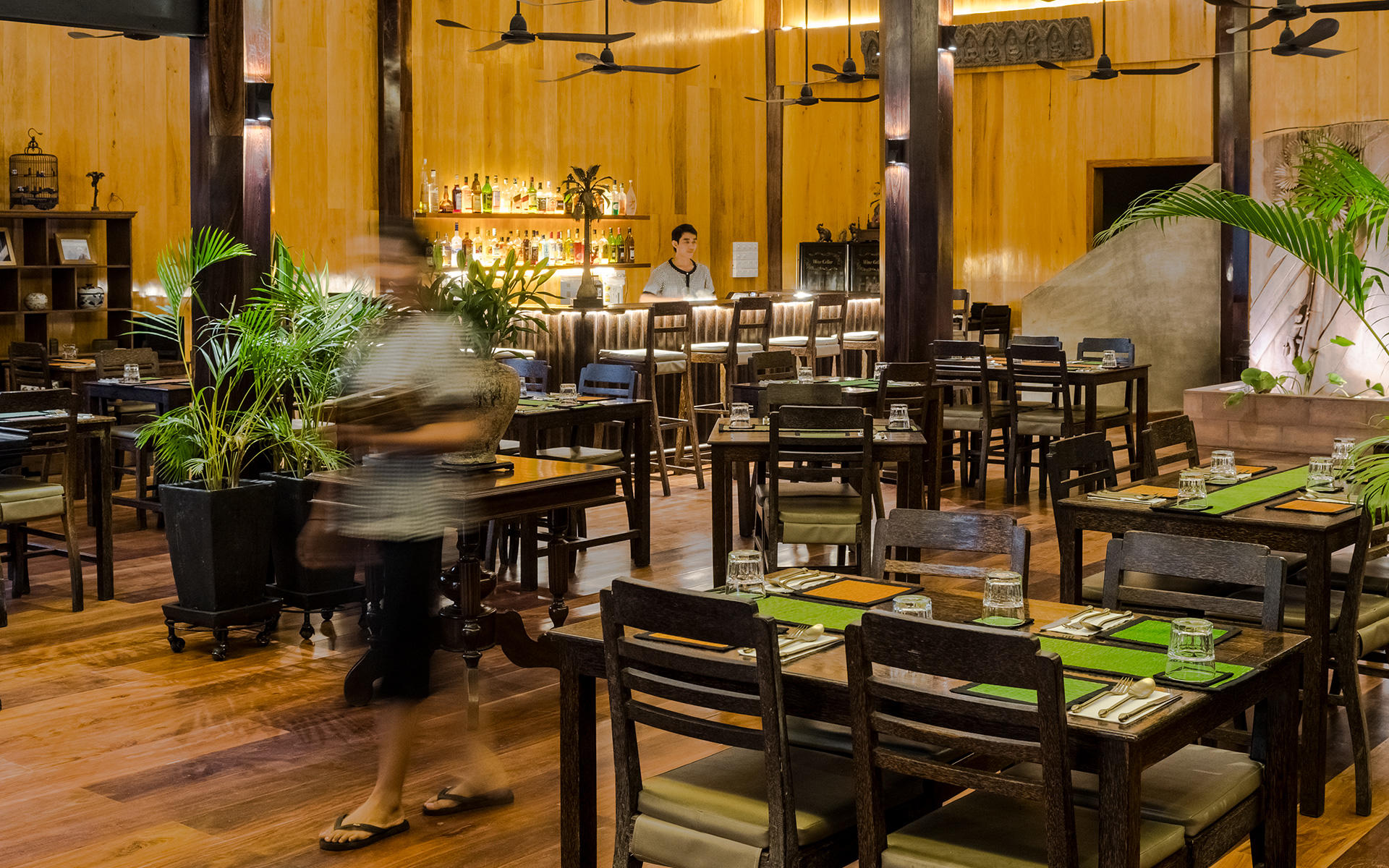The Sugar Palm Restaurant & Bar, Siem Reap. Authentic Cambodian food by chef Kethana with locations in Phnom Penh & Siem Reap, Cambodia.