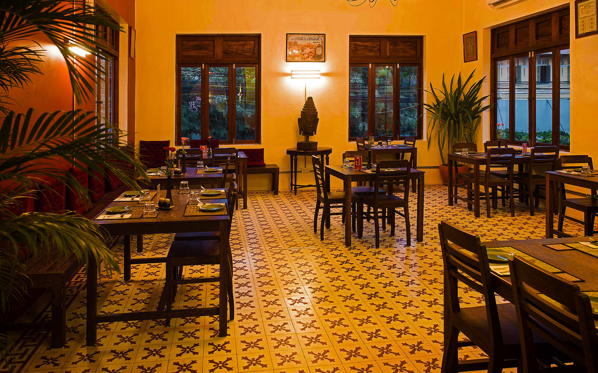 The Sugar Palm Restaurant & Bar. Authentic Cambodian food by chef Kethana with locations in Phnom Penh & Siem Reap, Cambodia.